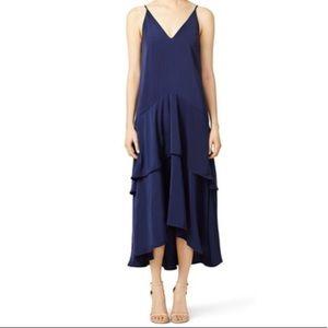 Keepsake (RTR) Navy Mercy Maxi Dress. Size Medium